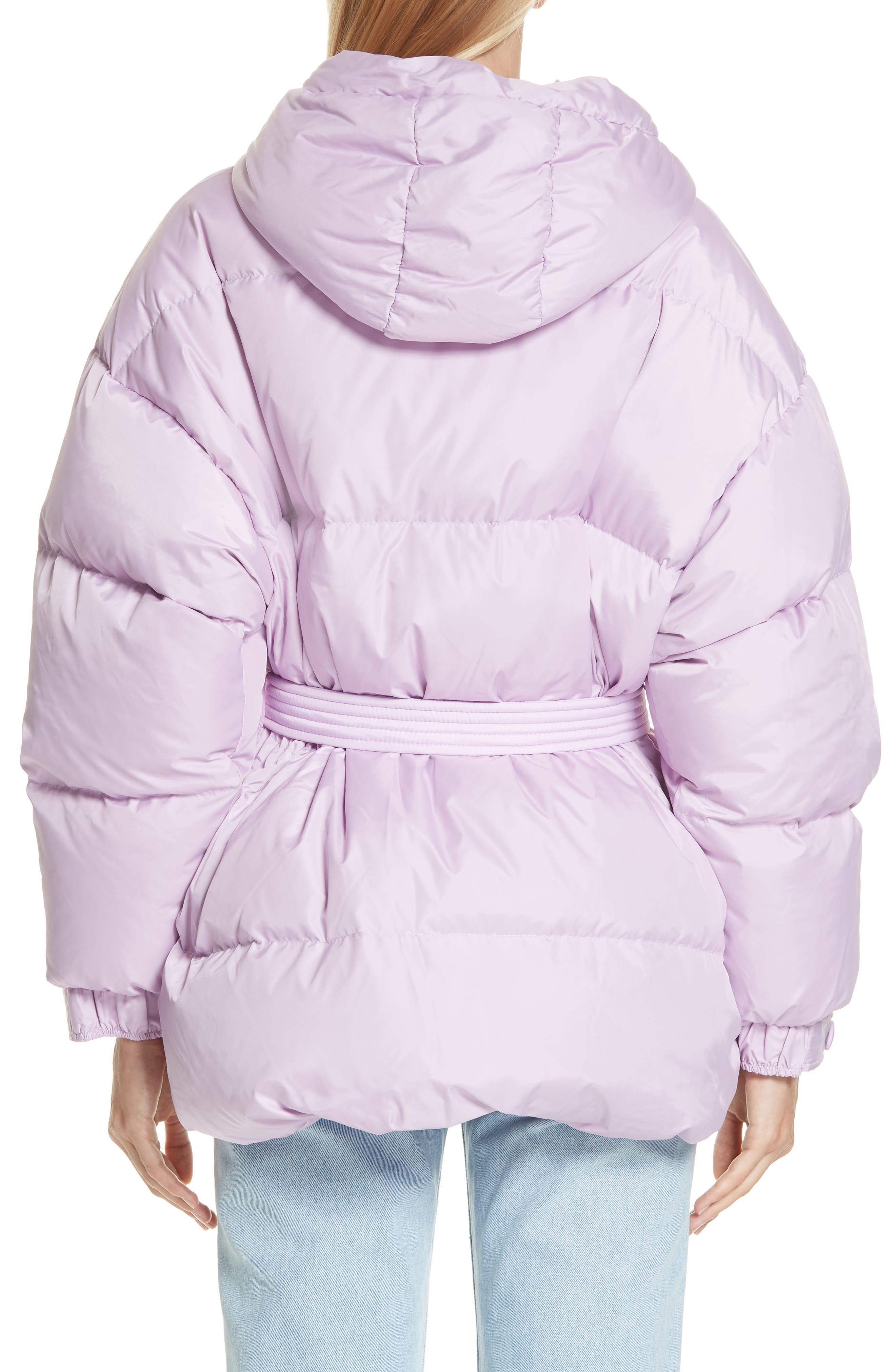 ,                             Michelin Hooded Down Puffer Coat,                             Alternate thumbnail 16, color,                             500