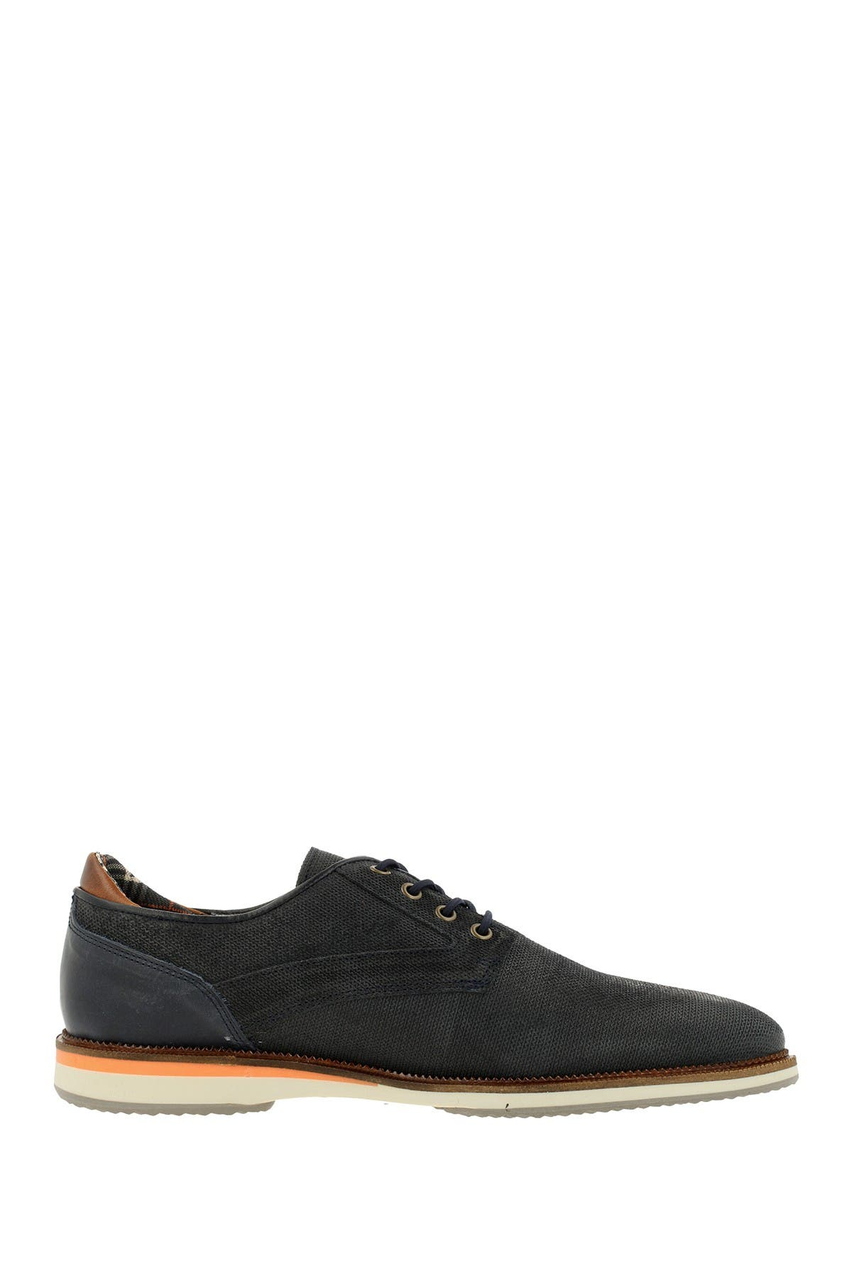 Image of Bullboxer Textured Leather Derby
