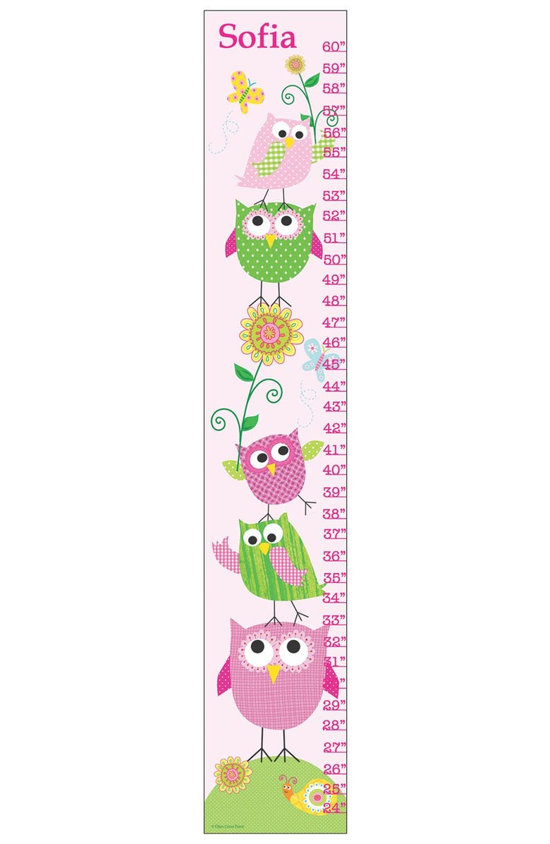 Stupell Owl Personalized Growth Chart Nordstrom