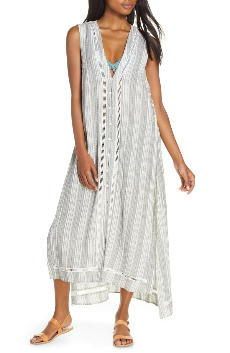 DOLCE VITA Wanderer Cover-Up Tunic Dress, Main, color, 900