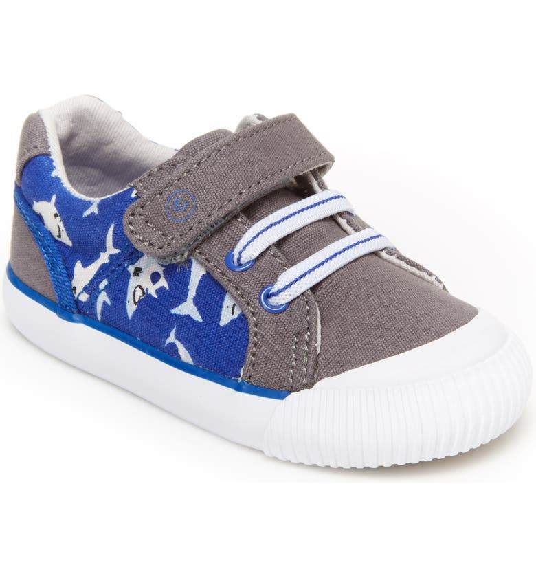 STRIDE RITE Parker Sneaker, Main, color, GREY MULTI