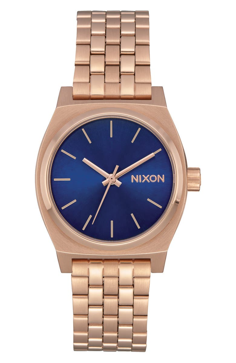 NIXON Time Teller Bracelet Watch, 31mm, Main, color, 001