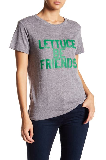 Image of Sub_Urban Riot Lettuce Be Friends Graphic T-Shirt
