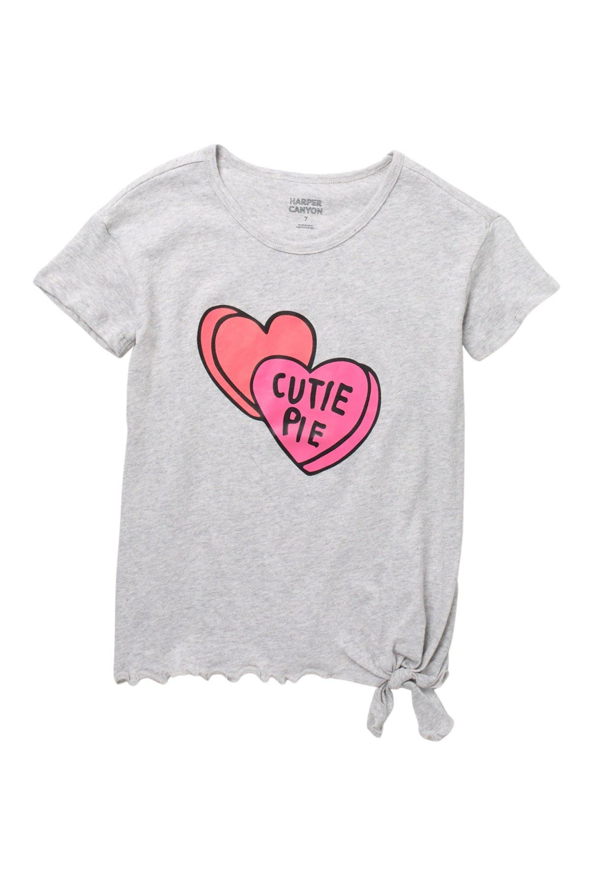 Image of Harper Canyon Tie Side Novelty T-Shirt