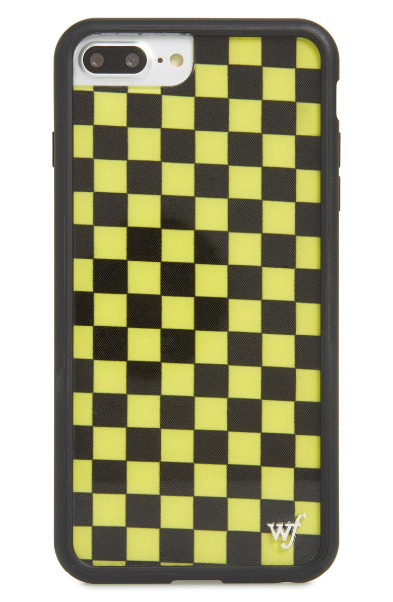 quality design a5e7b 4d7f6 wildflower Checkerboard iPhone 6/7/8 Plus Case | Nordstrom