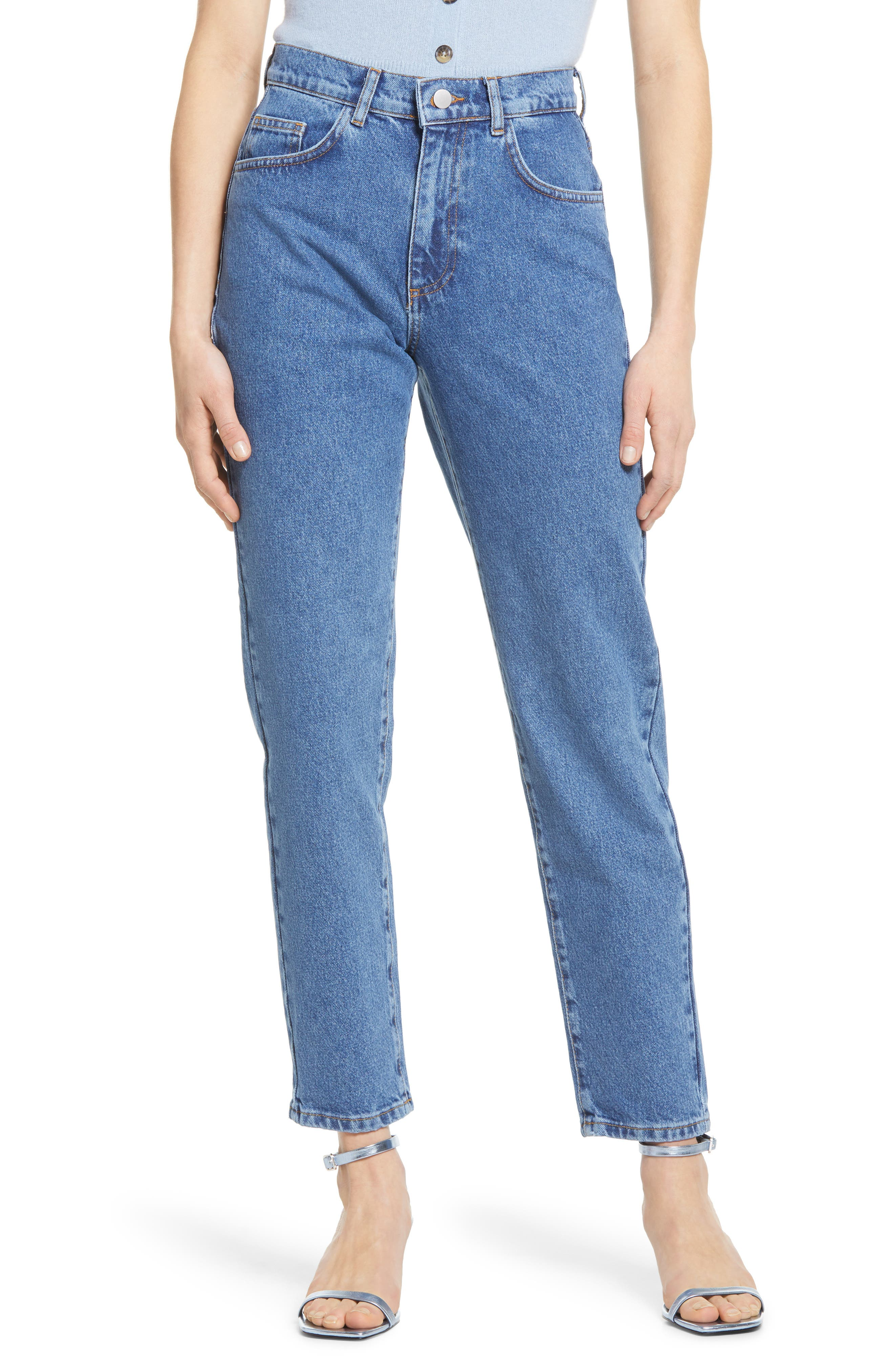 Nadine High Waist Relaxed Jeans
