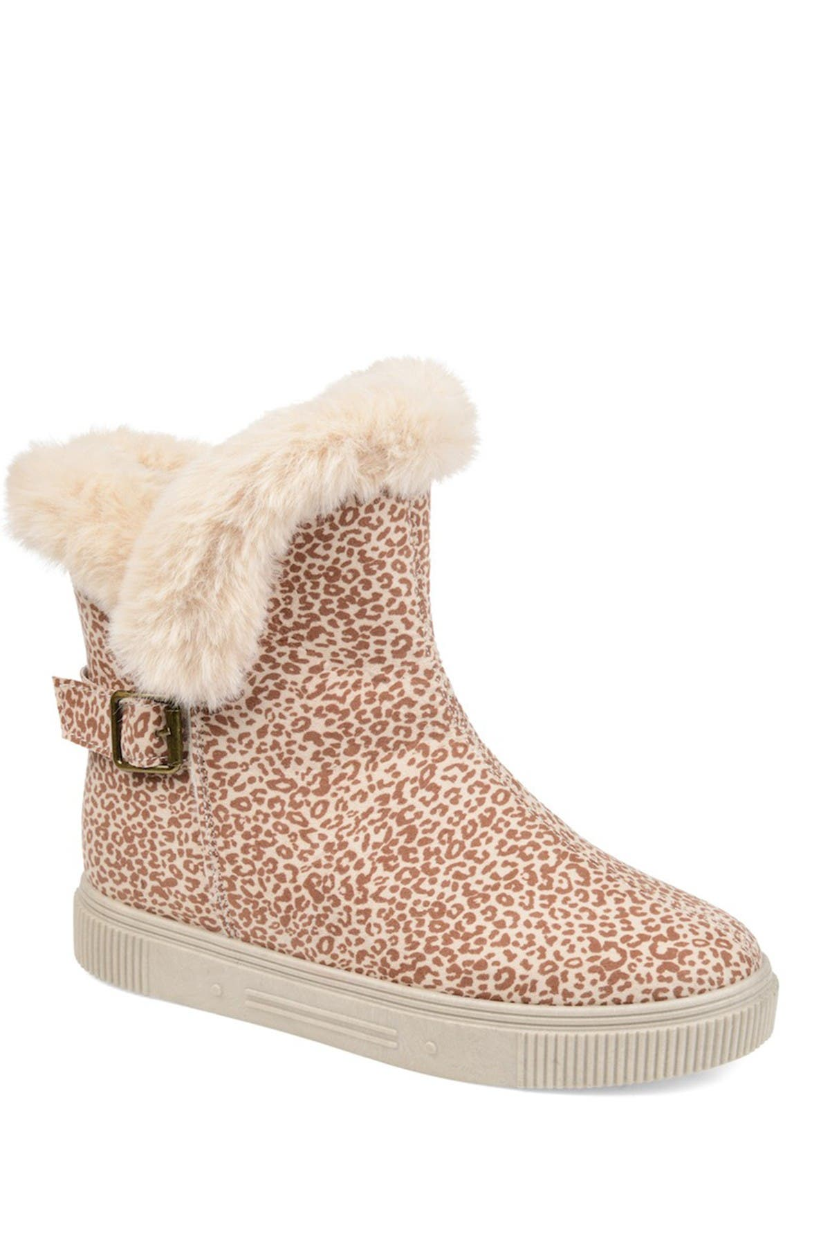 Image of JOURNEE Collection Sibby Faux Fur Lined Boot