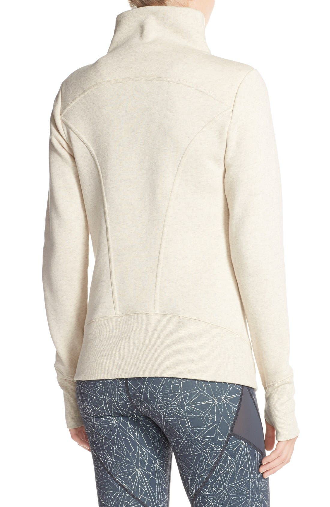 ,                             'Snowdrift' Asymmetrical Zip Sweatshirt,                             Alternate thumbnail 14, color,                             250