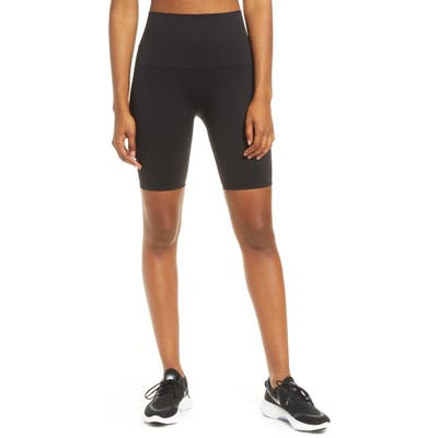 Spanx Look At Me Now Seamless Bike Shorts, Black