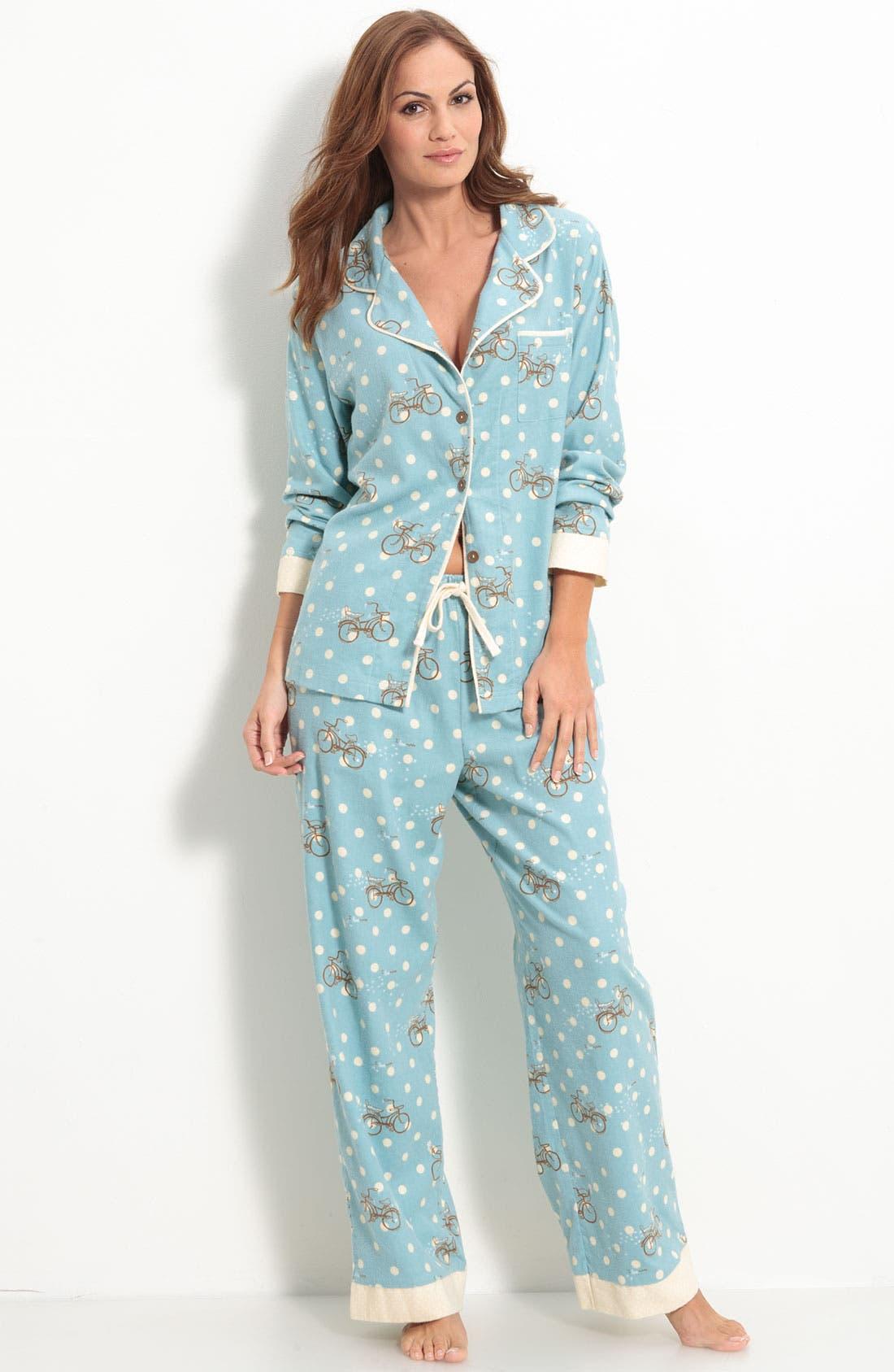 ,                             Flannel Pajamas,                             Main thumbnail 35, color,                             442