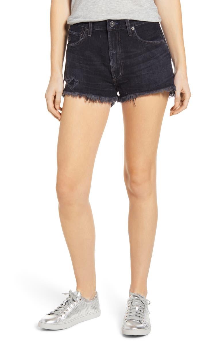 CITIZENS OF HUMANITY Danielle Cutoff Denim Shorts, Main, color, MORRO