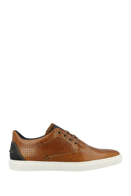 Image of Bullboxer Perforated Leather Sneaker