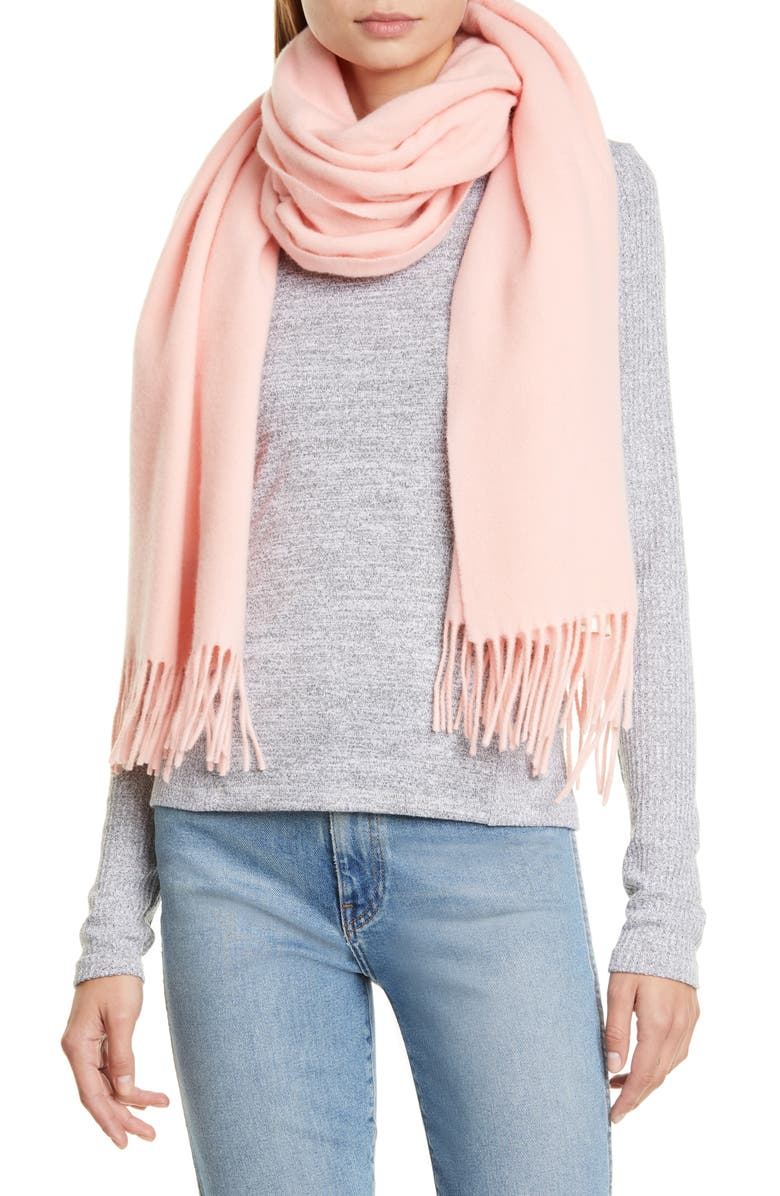 RAG & BONE Classic Wool Scarf, Main, color, LIGHTPNK