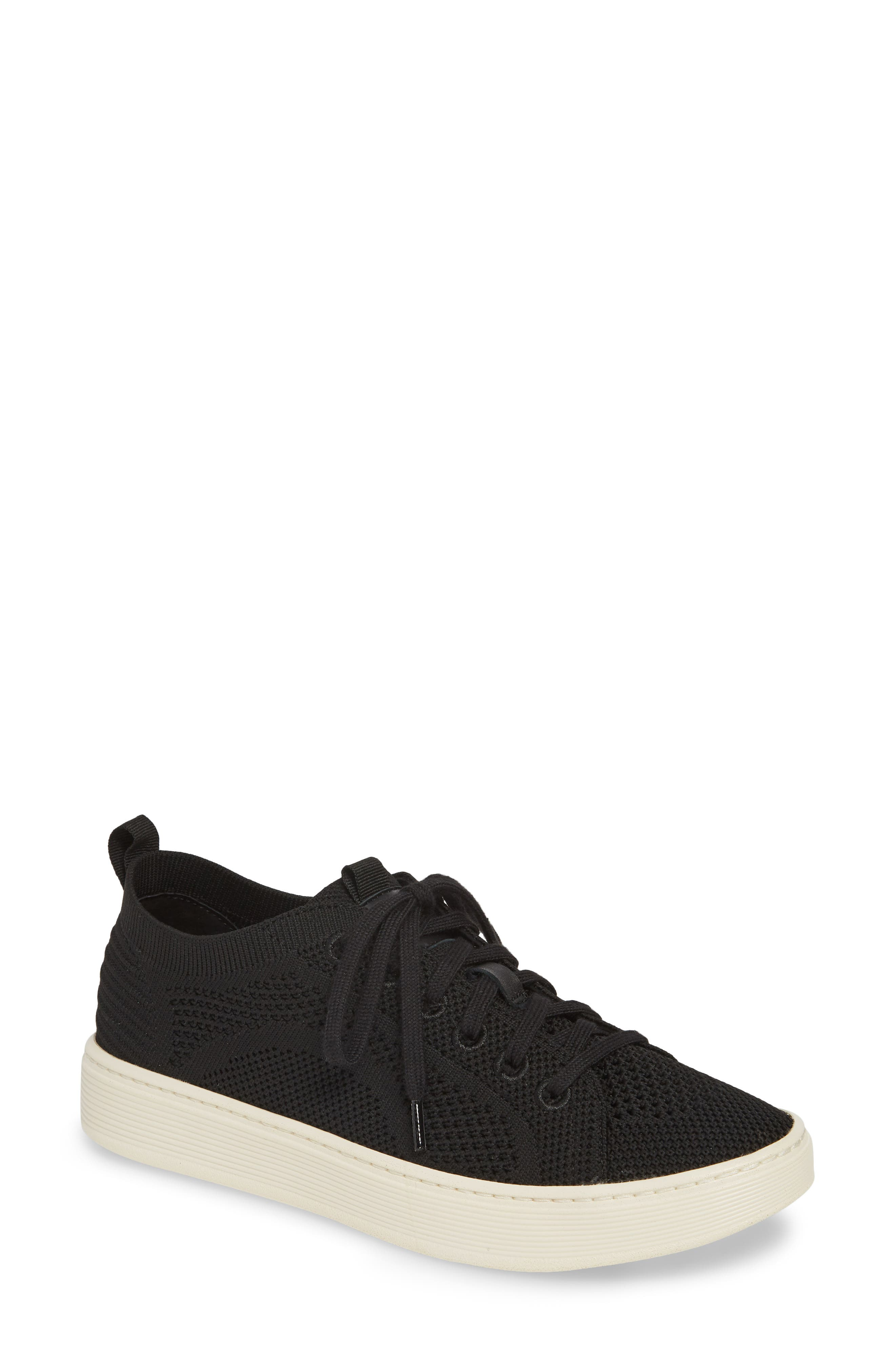 Sofft Somers Knit Sneaker- Black