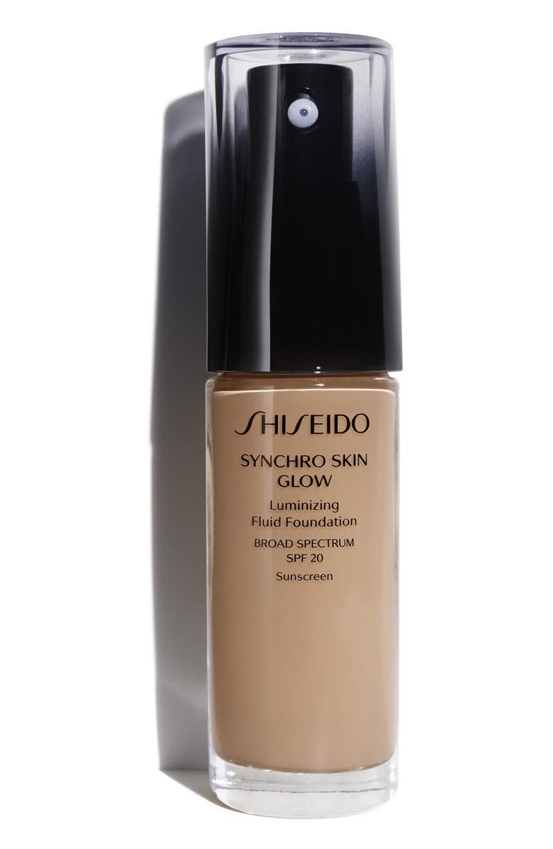 SHISEIDO Synchro Skin Glow Luminizing Fluid Foundation Broad Spectrum SPF 20, Main, color, R5