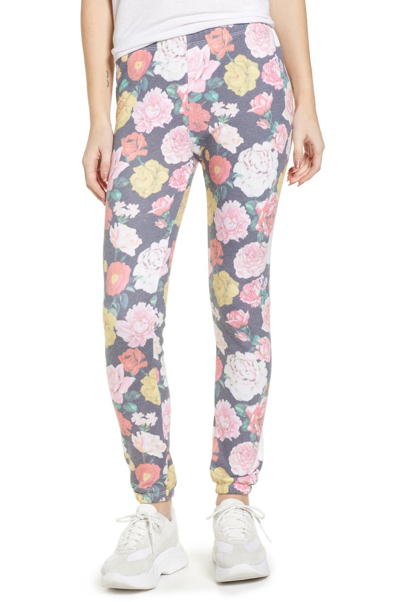 WILDFOX Knox - Queens Garden Jogger Pants, Main, color, 009