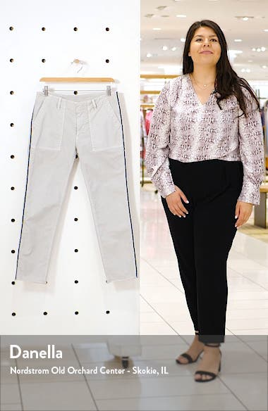 Jenna Side Tape Crop Pants, sales video thumbnail
