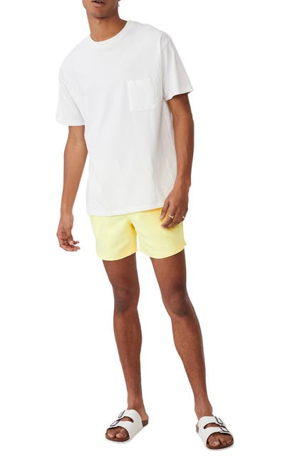 Image of Cotton On Solid Swim Trunks