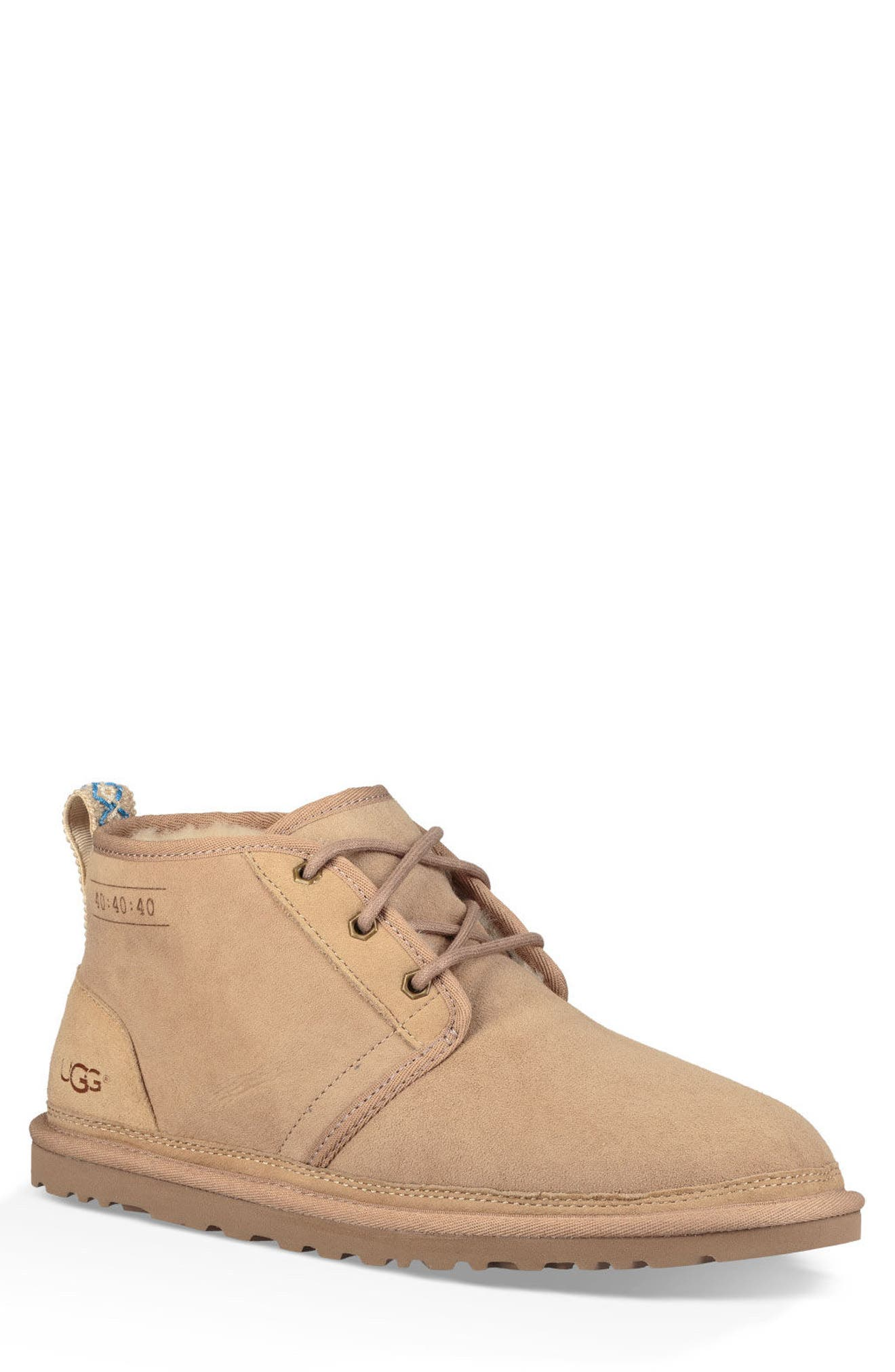 Ugg Neumel 40:40:40 Anniversary Genuine Shearling Boot, Brown