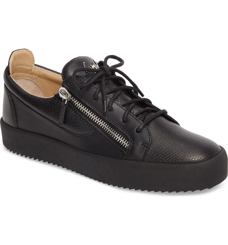 GIUSEPPE ZANOTTI Low-Top Sneaker, Main, color, 001
