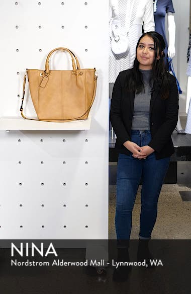 Rubie Faux Leather Tote, sales video thumbnail