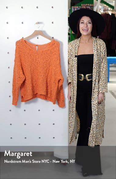 Sunday Shore Cotton Blend Sweater, sales video thumbnail