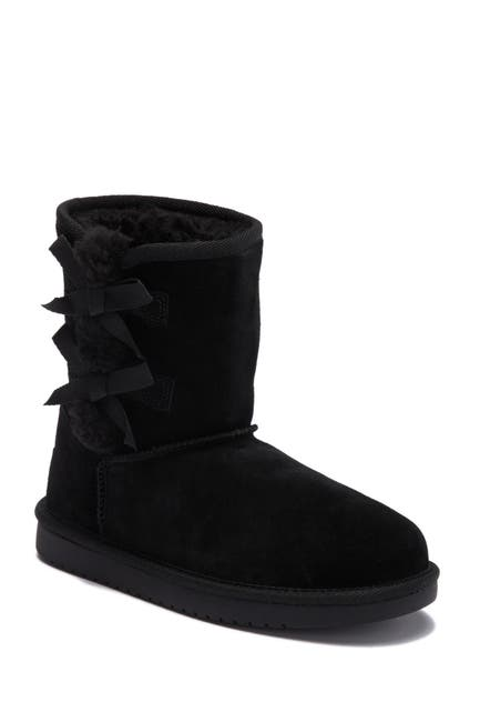 Image of KOOLABURRA BY UGG Victoria Faux Shearling Lined Suede Short Boot