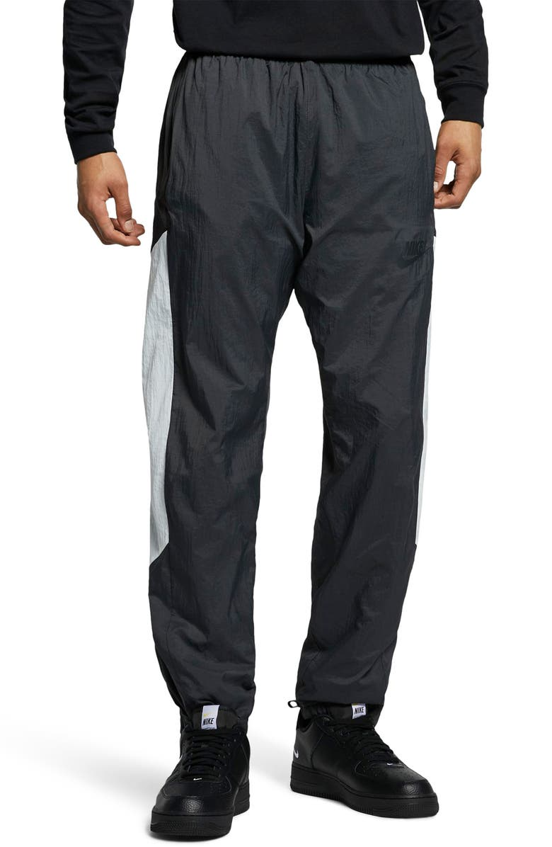 NIKE Sportswear Men's Woven Pants, Main, color, ANTHRACITE/ SAIL/ BLACK/ BLACK