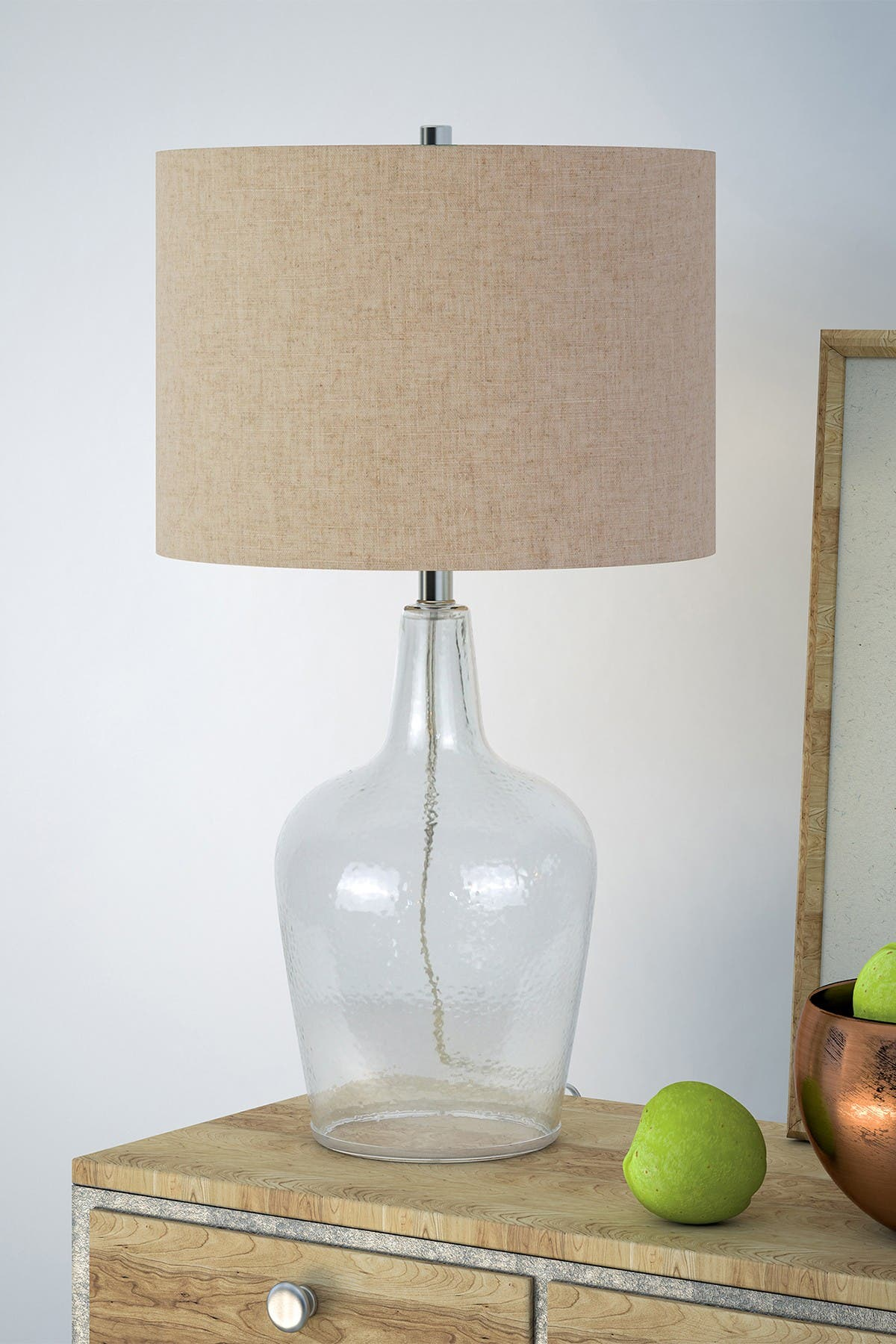 Image of: Addison And Lane Helix Fillable Table Lamp Watermarked Glass Nordstrom Rack
