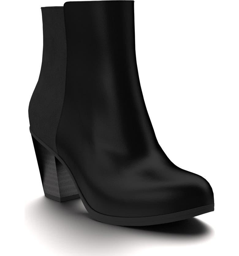 SHOES OF PREY Block Heel Bootie, Main, color, 001
