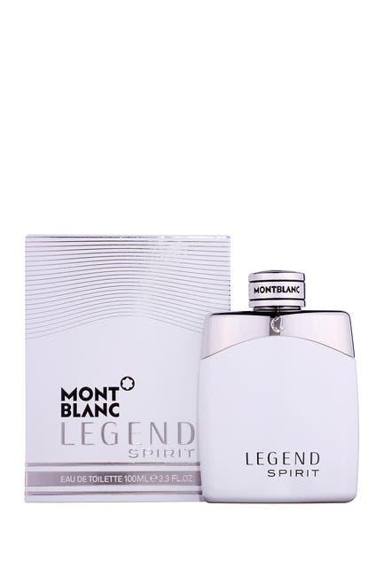 Image of Montblanc Mont Blacn Legend Spirit Eau de Toilette Spray - 3.3 oz.