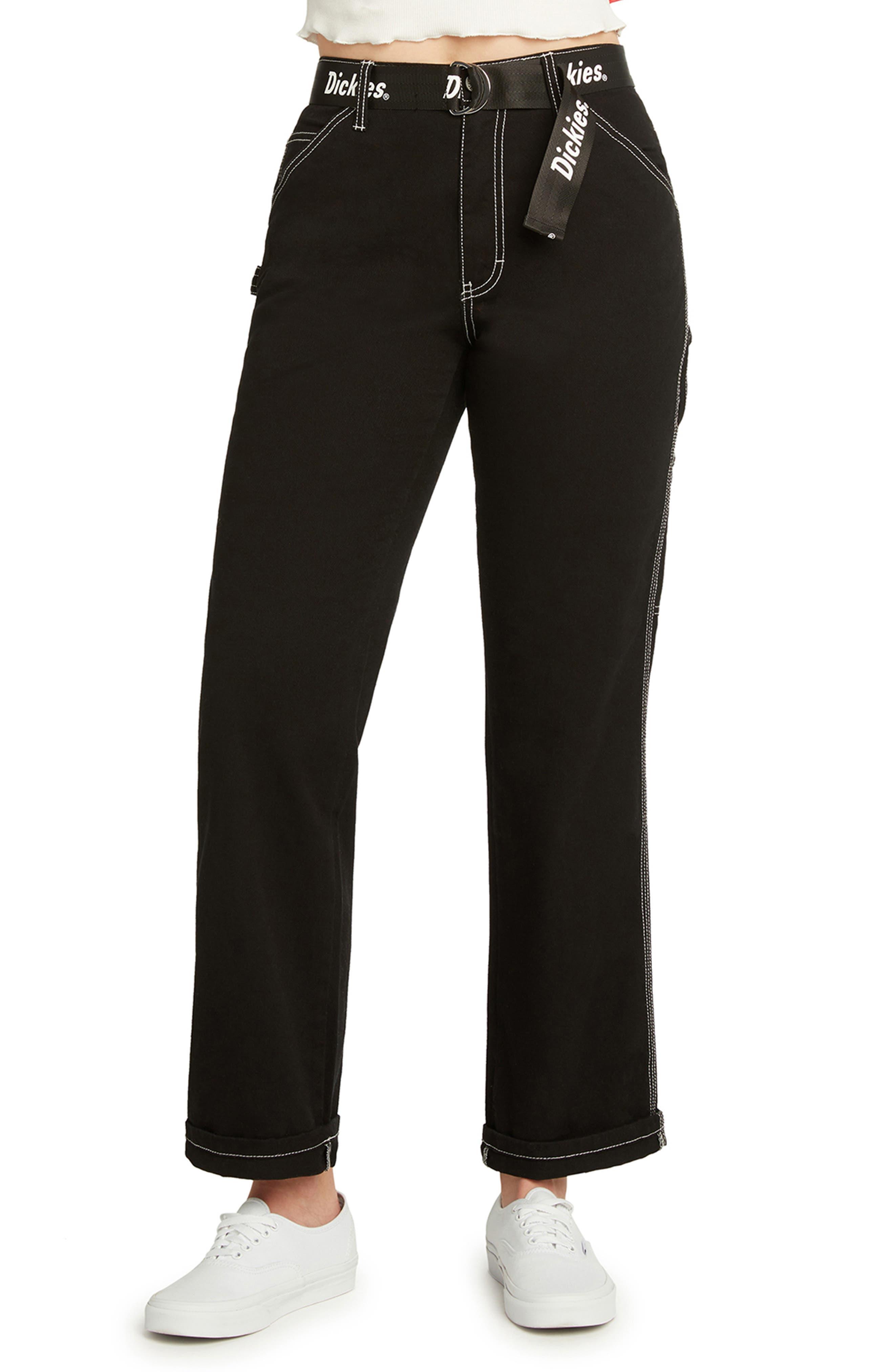 Logo Belt Carpenter Pants