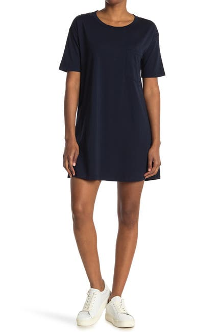 Image of Stateside Supima Pocket T-Shirt Dress