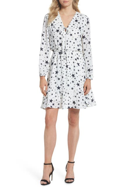 Image of Fraiche By J Star Print Tie Front Dress
