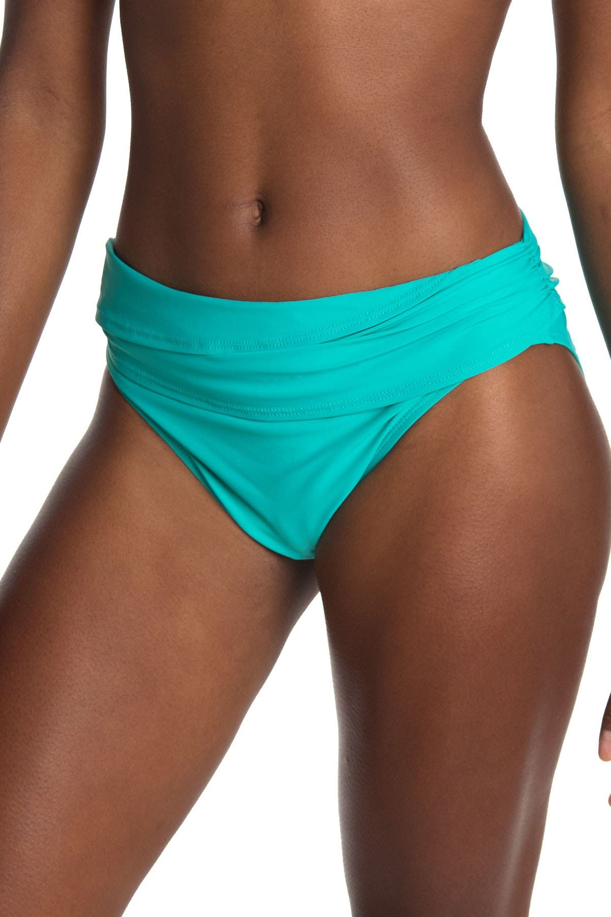 Image of Athena Solid Retro Swim Pants