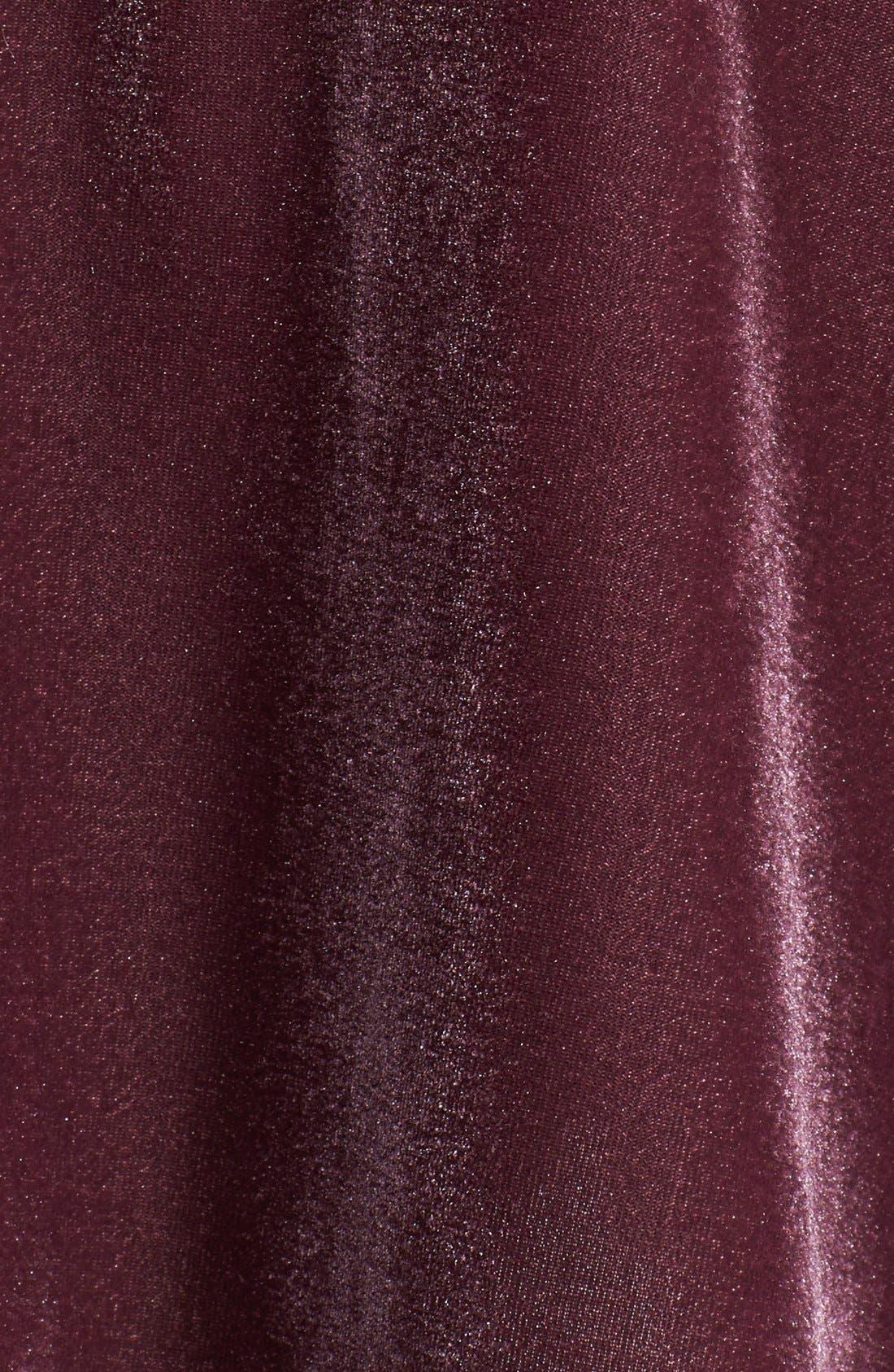 ,                             Velour Skater Skirt,                             Alternate thumbnail 12, color,                             938