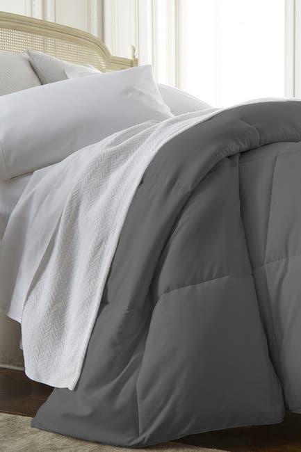 Image of IENJOY HOME Home Spun All Season Premium Down Alternative King Comforter - Gray