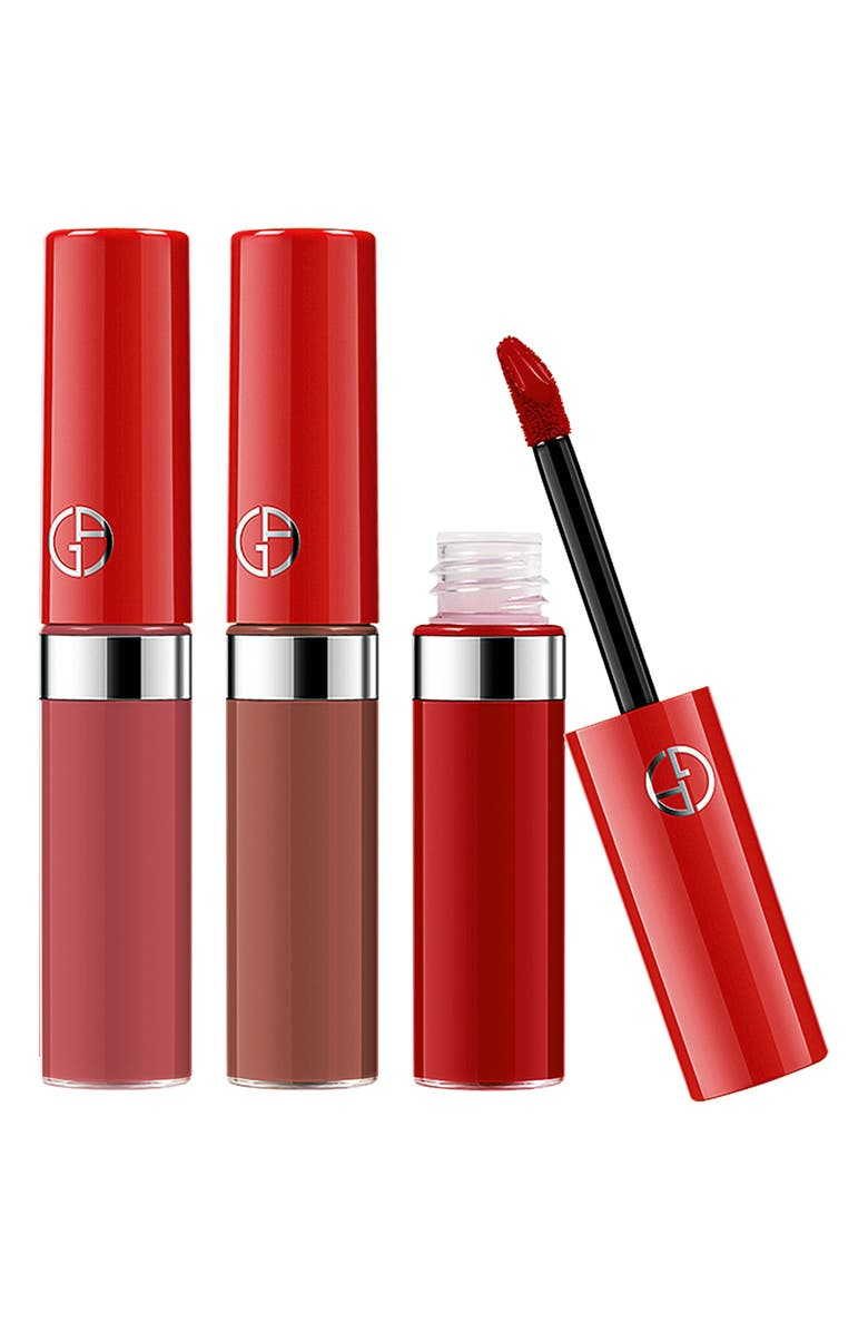 GIORGIO ARMANI Lip Maestro Travel Trio, Main, color, NO COLOR