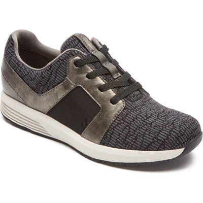 Rockport Trustride Knit Sneaker, Black