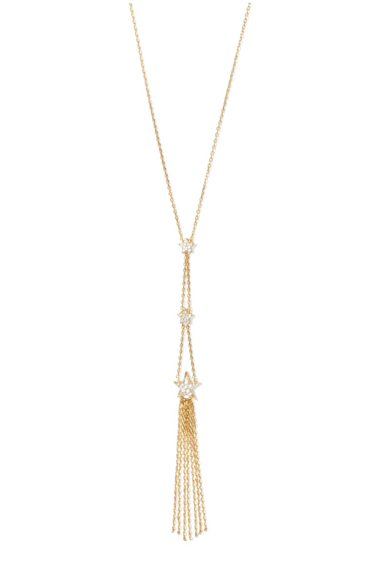 KATE SPADE NEW YORK stargaze statement tassel pendant necklace, Main, color, 710