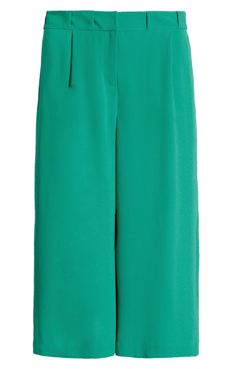 HALOGEN<SUP>®</SUP> x Atlantic-Pacific Pleated Pants, Main, color, GREEN VIRIDIS