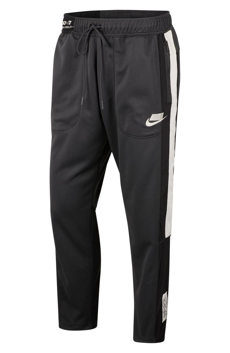 NIKE SNW Sportswear Track Pants, Main, color, BLACK/ ANTHRACITE/ SAIL