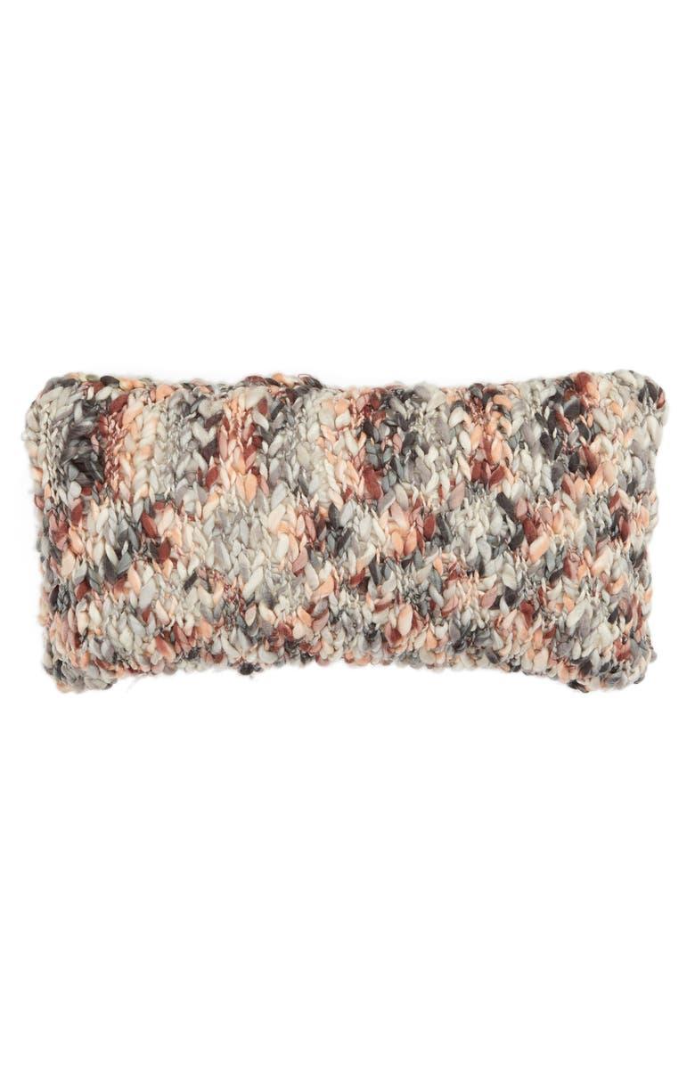 TREASURE & BOND Slub Knit Accent Pillow, Main, color, 200