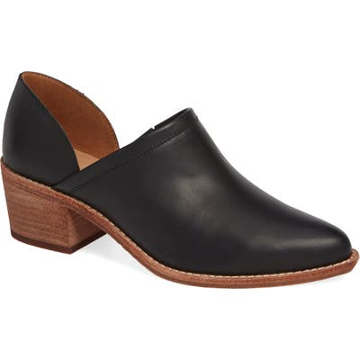Madewell The Brady Block Heel Bootie- Black