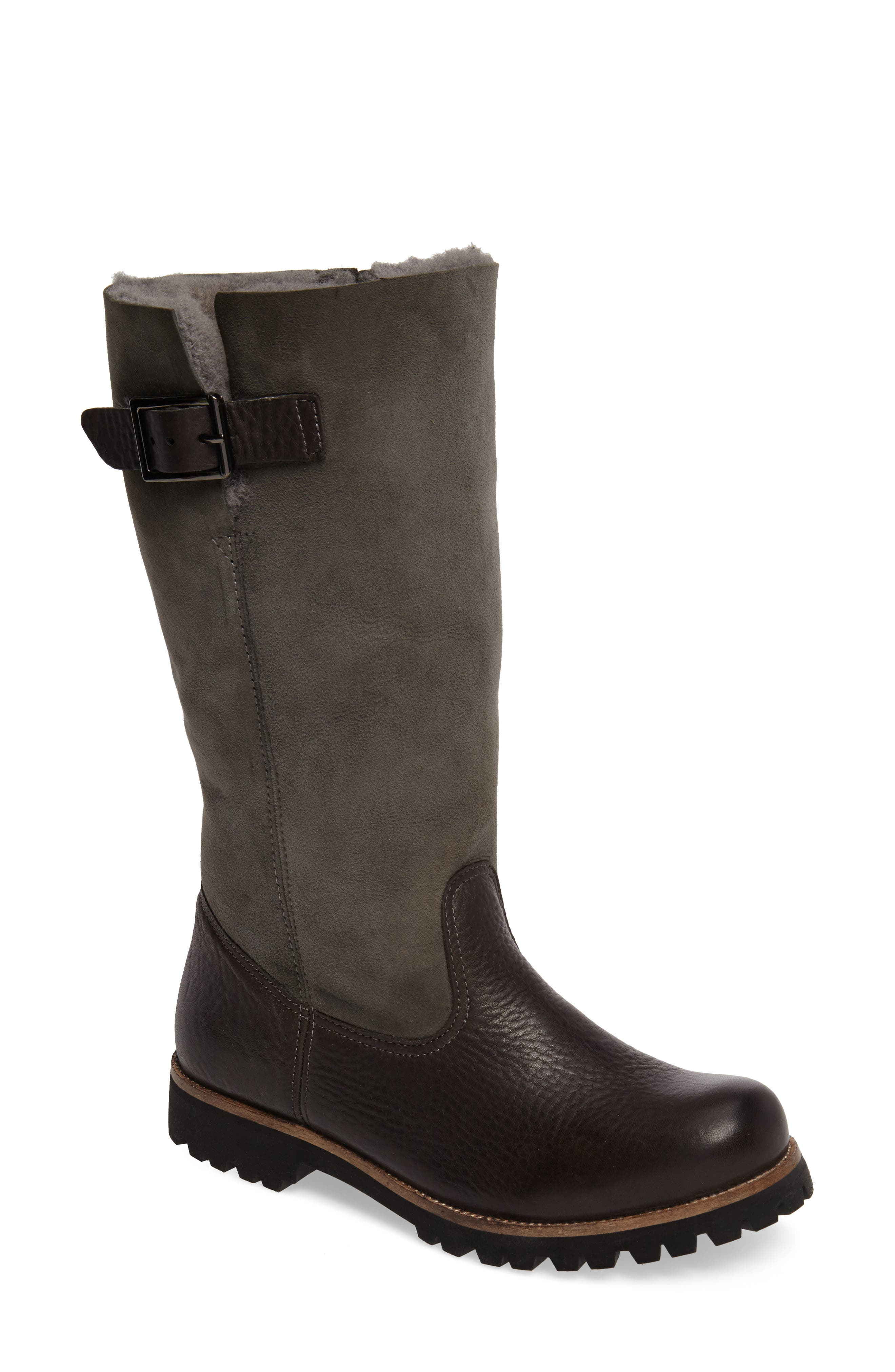 Blackstone Ol04 Tall Boot, Grey