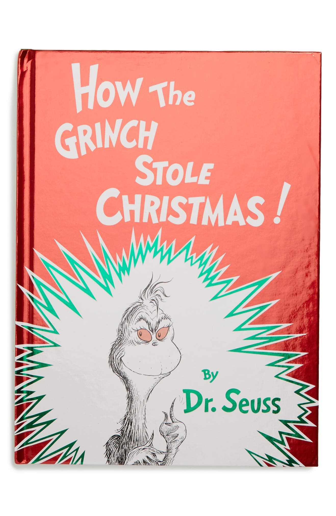How The Grinch Stole Christmas Book Cover.How The Grinch Stole Christmas Book Nordstrom
