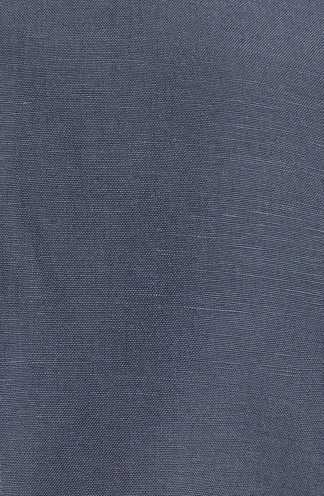 ,                             Linen Blend Jacket,                             Alternate thumbnail 3, color,                             030
