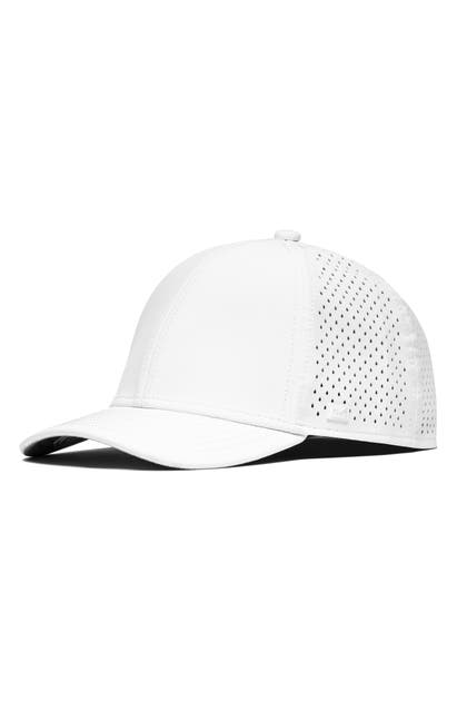reputable site f8ca5 fddc1 Melin Hydro A-Game Snapback Baseball Cap - White