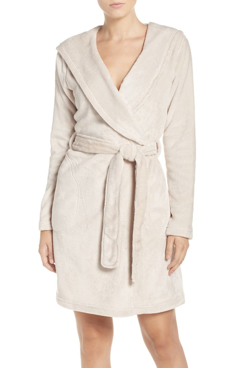 UGG<SUP>®</SUP> Miranda Robe, Main, color, MOONBEAM