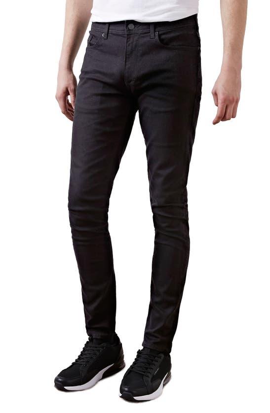 River Island Sid Freddy Skinny Jeans In Black